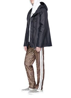 Palm Angels Leopard print track pants