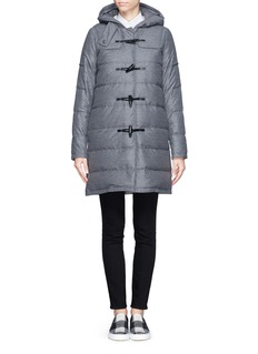 THEORY'Emmitt' wool-nylon puffer coat