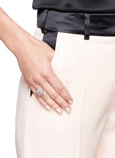 LC Collection Diamond 18k white gold ring