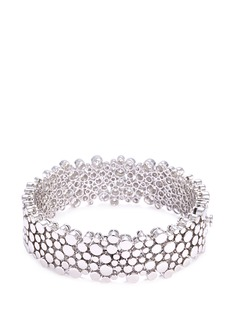 COIN ROBERTO S.R.L. 'Sauvage' diamond 18k white gold bangle