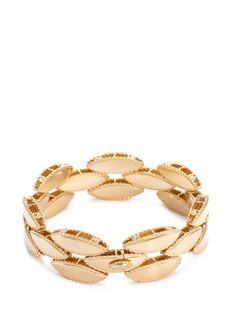 COIN ROBERTO S.R.L. 'Retro' 18k yellow gold bracelet