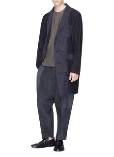 Uma Wang  'Kamal' colourblock linen pants