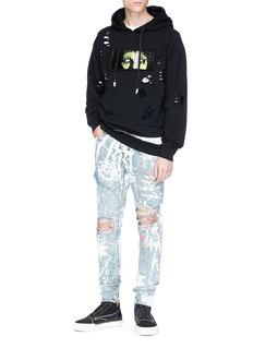 Haculla Paint splatter jeans