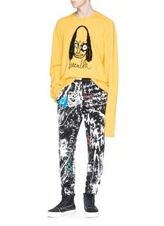 Haculla Paint splatter print jogging pants