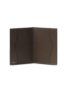 Valextra Leather passport holder – Brown