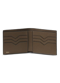 Valextra Leather bifold wallet – Brown