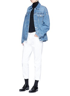 Dries Van Noten 'Vidale' oversized denim jacket
