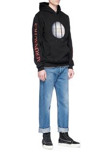 Stereo Vinyls Jupiter print hoodie