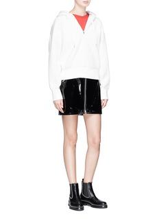 rag & bone/JEAN 'Racer' patent leather skirt