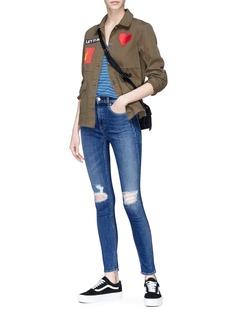 rag & bone/JEAN 'Bonnie' distressed jeans