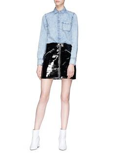 rag & bone/JEAN 'Bleachout Classic' chambray shirt