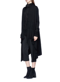 Rick Owens 'Cargo' drop crotch cropped suiting pants