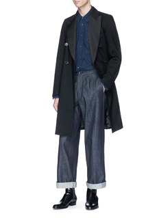 Dries Van Noten 'Rayce' wool long blazer