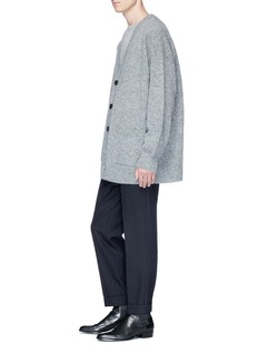 Dries Van Noten 'Taxes' oversized wool cardigan