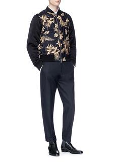 Dries Van Noten 'Vinny' stripe reversible bomber jacket