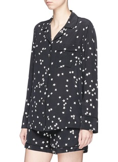 Equipment 'Lillian' star print silk crepe pyjama set