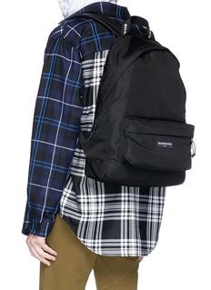Balenciaga 'Explorer' logo patch canvas backpack