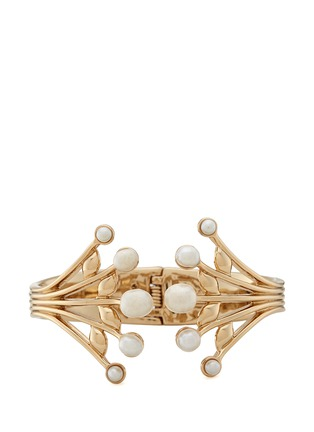 Main View - Click To Enlarge - Lulu Frost - 'Alesia' freshwater pearl leaf cuff