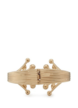 Figure View - Click To Enlarge - Lulu Frost - 'Alesia' freshwater pearl leaf cuff