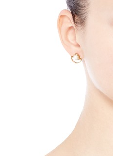 Lulu Frost 'Lilas' freshwater pearl stud earrings