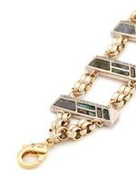 'Chatelet' mix gemstone ladder bracelet