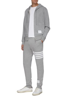 Thom Browne Stripe print cotton sweatpants