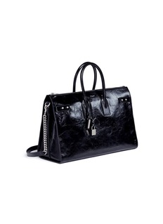 Saint Laurent 'Sac de Jour' large leather duffle bag