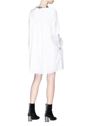 Figure View - Click To Enlarge - 3.1 Phillip Lim - Ruched back poplin dress