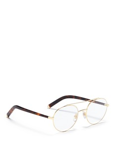 SUPER 'Numero 34 ORO' aviator optical glasses