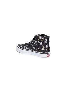 Vans x Peanuts 'SK8-Hi Zip' Snoopy and Woodstock print kids sneakers