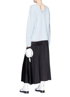 3.1 PHILLIP LIM V领背面棉混丝针织衫