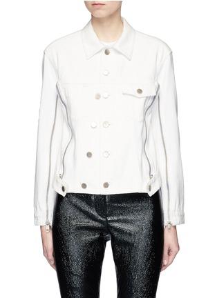 Main View - Click To Enlarge - 3.1 Phillip Lim - Asymmetric denim jacket
