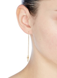 Isabel Marant 'It's All Right' mimatched drop earrings