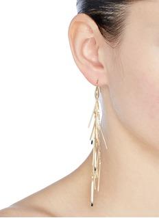 Isabel Marant 'Good Swung' fringe drop earrings