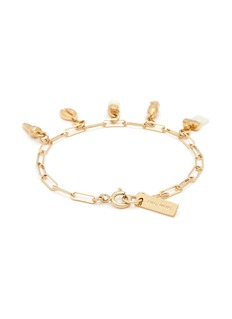 Isabel Marant 'It's All Right' mixed charm chain bracelet