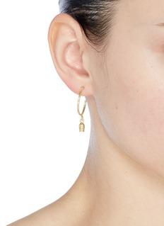 Isabel Marant 'It's All Right' hoop earrings