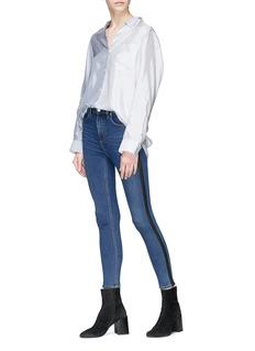 rag & bone/JEAN 'Ankle' stripe outseam skinny jeans
