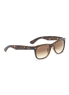Ray-Ban 'New Wayfarer Classic' tortoiseshell acetate square sunglasses