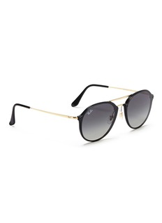 Ray-Ban 'Blaze' metal round sunglasses