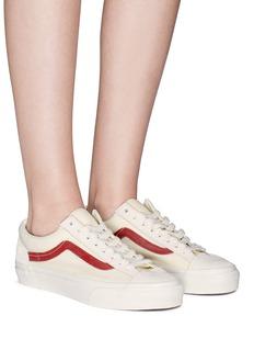 Vans 'Style 36' suede canvas unisex sneakers