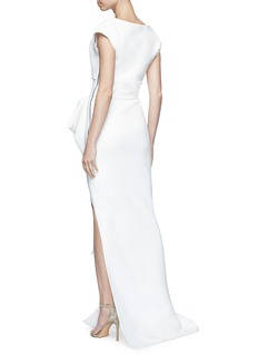 Maticevski 'Determination' side split gown