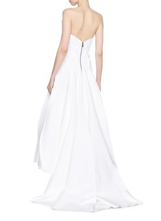 Maticevski 'The Presenting' raw edge panel gown