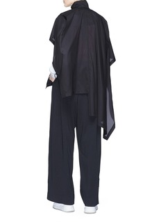 Y-3 'Adizero' asymmetric hem jacket