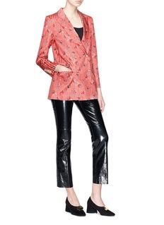 Blazé Milano 'Marga' floral print silk everyday blazer