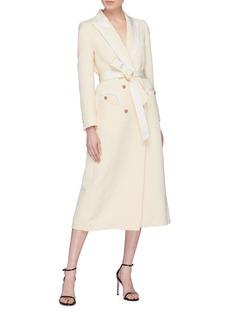Blazé Milano 'Savannah' sash belt blazer dress