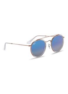 Ray-Ban 'RB3647-N' round double bridge sunglasses