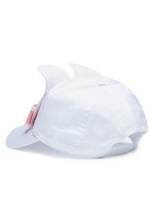 Bernstock Speirs Raffia bunny baseball cap