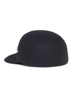 Eugenia Kim 'Bo' slogan straw baseball cap