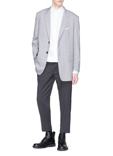 Neil Barrett Houndstooth check blazer