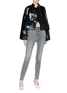 J Brand 'Natasha' button pocket skinny jeans